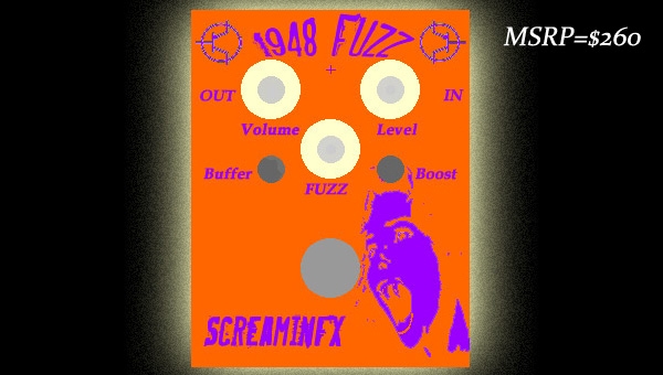 Original Graphic for the 1948 Fuzz Slicon Fuzz