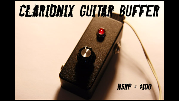 Clarionix Buffer Pedal